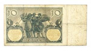Polska, II Rzeczpospolita 1919 - 1939, 10 ZŁOTYCH, 20.07.1926, seria CT.