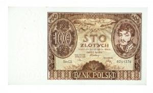 Polska, II Rzeczpospolita 1919 - 1939, 100 ZŁOTYCH, 9.11.1934, seria CS.