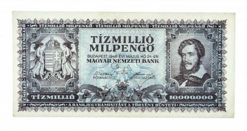 Węgry, Magyar Nemzeti Bank, 10.000.000 milpengo 24.05.1946, Budapeszt.