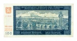 Protektorat Czech i Moraw (1939–1945), 100 koron 20.08.1940.
