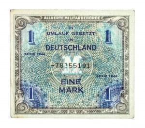 Niemcy, Alliierte Militärbehörde, bon okupacyjny 1 marka 1944.