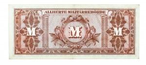 Niemcy, Alliierte Militärbehörde, bon okupacyjny 20 marek 1944.