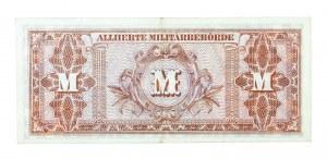 Niemcy, Alliierte Militärbehörde, bon okupacyjny 50 marek 1944.