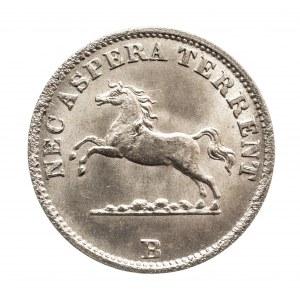 Niemcy, Hanower, 6 pfennige 1850.