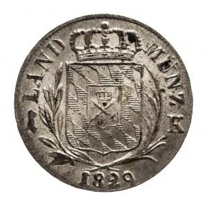 Niemcy, Bawaria, 1 kreuzer 1829.