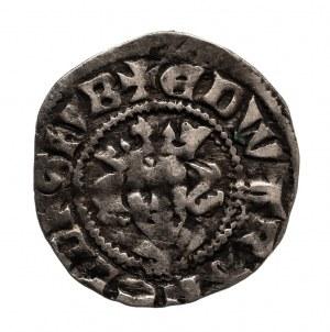 Anglia, Edward II 1307-1327, pens - denar bez daty (1310-1314), Londyn.