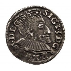 Polska, Zygmunt III Waza 1587-1632, trojak 1592, Poznań.