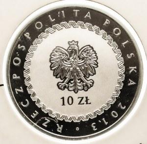 Polska, Rzeczpospolita Polska od 1989, 10 złotych 2013 KSIĄŻE JÓZEF PONIATOWSKI.