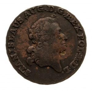 Polska, Stanisław August Poniatowski 1764-1795, trojak 1789 E.B., Warszawa.