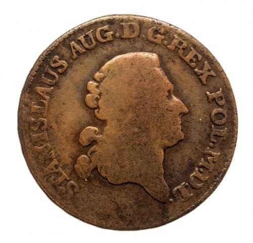 Polska, Stanisław August Poniatowski 1764-1795, trojak 1778 E.B., Warszawa.