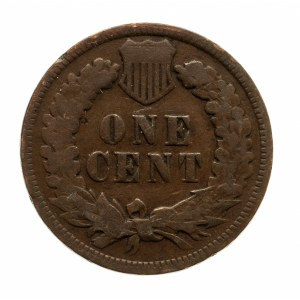 Stany Zjednoczone Ameryki, 1 cent 1896, głowa Indianina