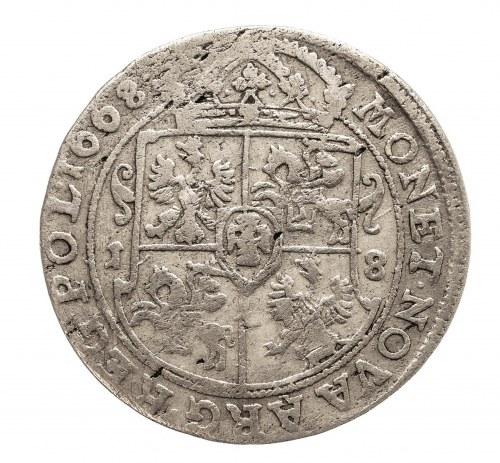 Polska, Jan II Kazimierz Waza 1649-1668, ort 1668 TLB, Bydgoszcz
