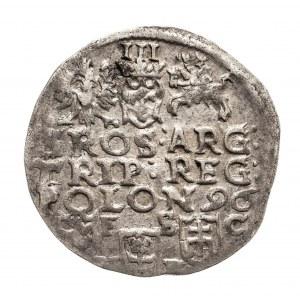 Polska, Zygmunt III Waza 1587-1632, trojak 1596, Bydgoszcz.