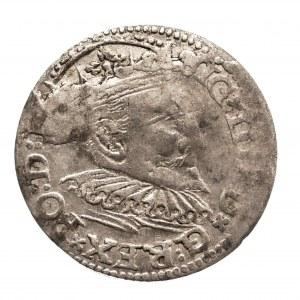 Polska, Zygmunt III Waza 1587-1632, trojak 1595, Ryga.