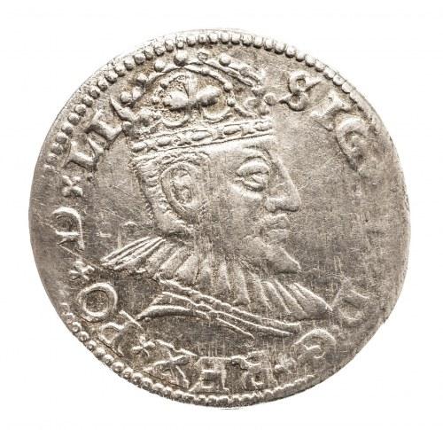 Polska, Zygmunt III Waza 1587-1632, trojak 1590, Ryga.