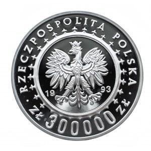 Polska, Rzeczpospolita od 1989 r., 300000 złotych 1993 Zamek w Łańcucie