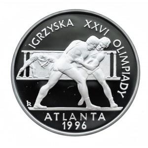 Polska, Rzeczpospolita od 1989 r., 20 złotych 1995, Igrzyska Olimpijskie w Atlancie 1996