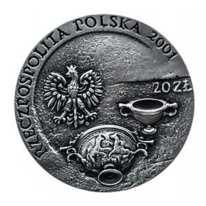 Polska, Rzeczpospolita od 1989 r., 20 złotych 2001, Szlak Bursztynowy