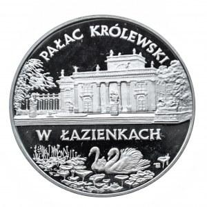 Polska, Rzeczpospolita od 1989 r., 20 złotych 1995, Pałac Królewski w Łazienkach