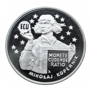 Polska, Rzeczpospolita od 1989 r., 20 złotych 1995, ECU Mikołaj Kopernik