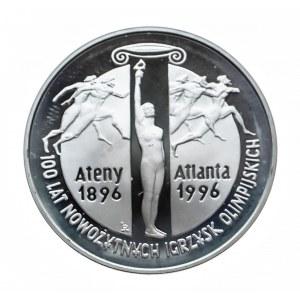 Polska, Rzeczpospolita od 1989 r., 10 złotych 1995, 100 lat nowożytnych igrzysk olimpijskich