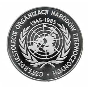 Polska, PRL 1944-1989, 500 złotych 1985, 40 lat ONZ