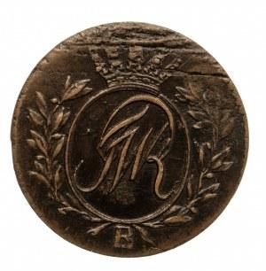 Prusy Południowe, Fryderyk Wilhelm II 1786-1797, półgrosz 1797 B, Wrocław