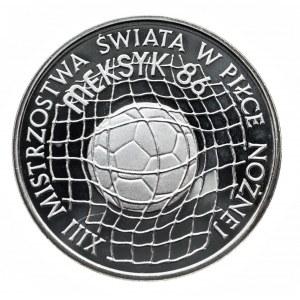 Polska, PRL 1944-1989, 500 złotych 1986, XIII Mistrzostwa Świata w Piłce Nożnej - Meksyk 1986