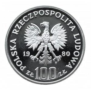 Polska, PRL 1944-1989, 100 złotych 1980, Jan Kochanowski