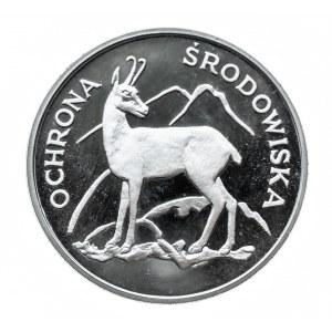 Polska, PRL 1944-1989, 100 złotych 1979, Ochrona środowiska - kozica