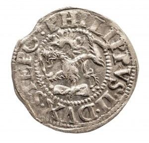 Pomorze, Księstwo Szczecińskie, Filip II 1606 - 1618, grosz 1614, Szczecin