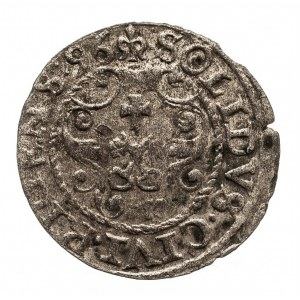 Polska, Zygmunt III Waza 1587-1632, szeląg 1596, Ryga