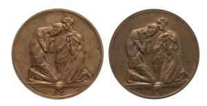Niemcy, Saksonia, zestaw dwóch medali
