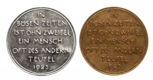 Niemcy, zestaw dwóch medali