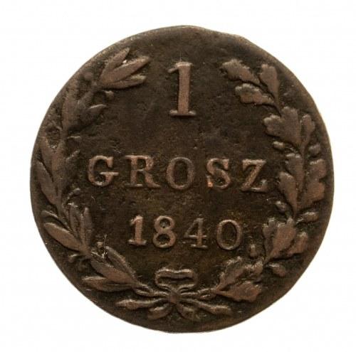 Zabór rosyjski, Mikołaj I 1825-1855, groszy 1840 MW, Warszawa
