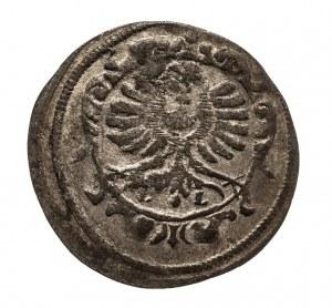 Śląsk, Księstwo Oleśnickie - Dynastia Württemberg-Weiltingen - Krystian Ulryk I (1664–1704), 1 gröschel (greszel) 1698, Oleśnica