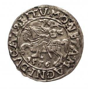 Polska, Zygmunt II August (1545–1572), półgrosz litewski 1556, Wilno, LI / LITV