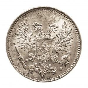 Finlandia, okupacja rosyjska - Mikołaj II (1894–1917), 50 penniä 1917, Helsinki