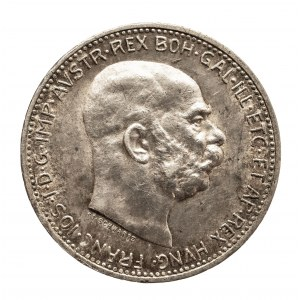Austria, Franciszek Józef I (1848–1916), 1 korona 1912, Wiedeń