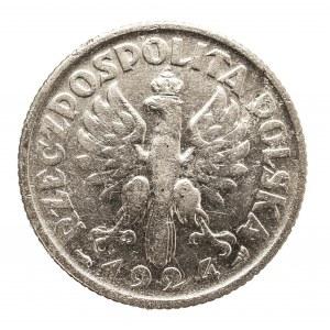 Polska, II Rzeczpospolita 1918-1939, 1 złoty 1924, Paryż.