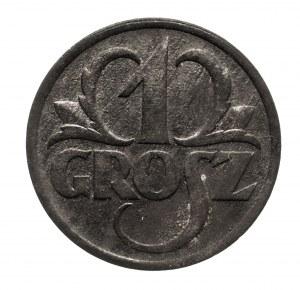 Polska, Generalna Gubernia 1939-1945, 1 grosz 1939, Warszawa.