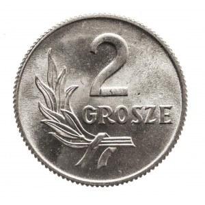 Polska, PRL 1944-1989, 2 grosze 1949 aluminium ( 1 )