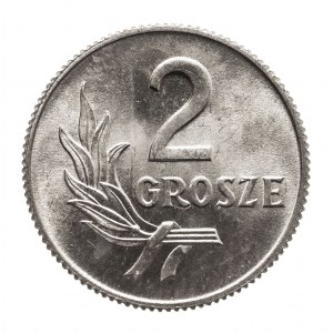 Polska, PRL 1944-1989, 2 grosze 1949 aluminium ( 2 )