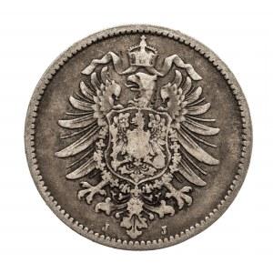 Niemcy, Cesarstwo Niemieckie 1871-1918, 1 marka 1876 J, Hamburg