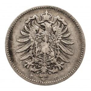 Niemcy, Cesarstwo Niemieckie 1871-1918, 1 marka 1878 E, Drezno