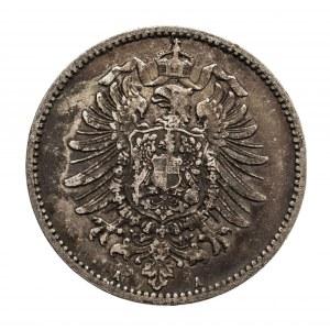 Niemcy, Cesarstwo Niemieckie 1871-1918, 1 marka 1881 A, Berlin