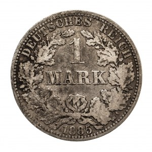 Niemcy, Cesarstwo Niemieckie 1871-1918, 1 marka 1885 A, Berlin