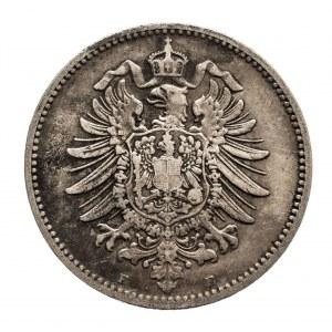 Niemcy, Cesarstwo Niemieckie 1871-1918, 1 marka 1886 E, Drezno