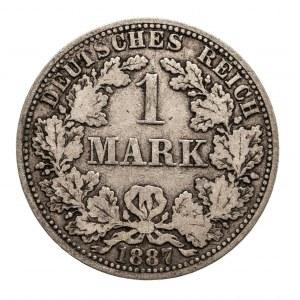 Niemcy, Cesarstwo Niemieckie 1871-1918, 1 marka 1887 A, Berlin