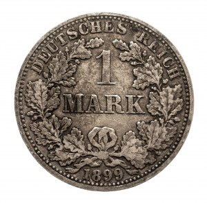 Niemcy, Cesarstwo Niemieckie 1871-1918, 1 marka 1899 A, Berlin
